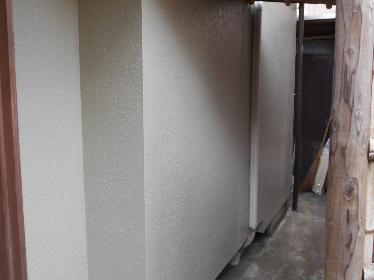 防水塗料ガーディアン。好みの仕上げ材で綺麗になります。